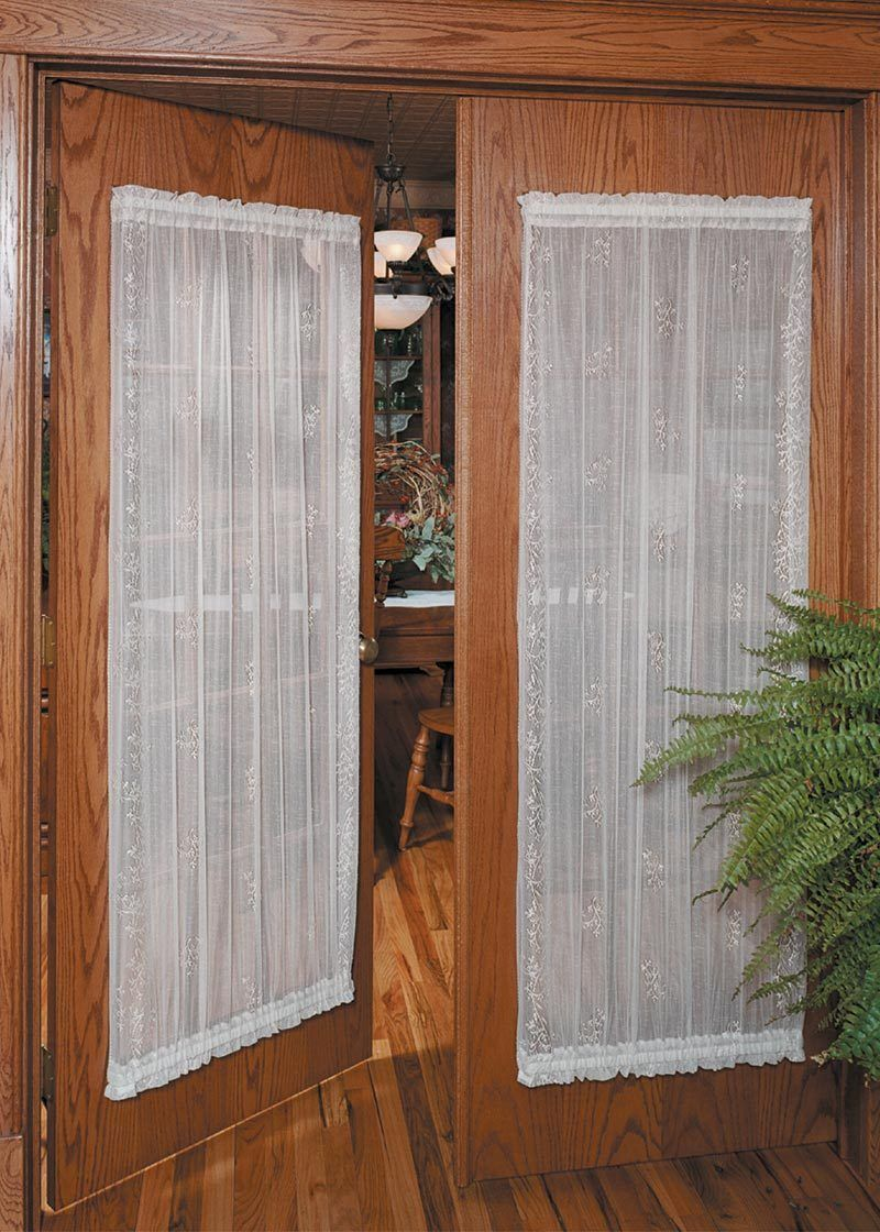 Sheer Divine Curtain Collection White Window Coverings Diy Door Curtains French Door Curtains