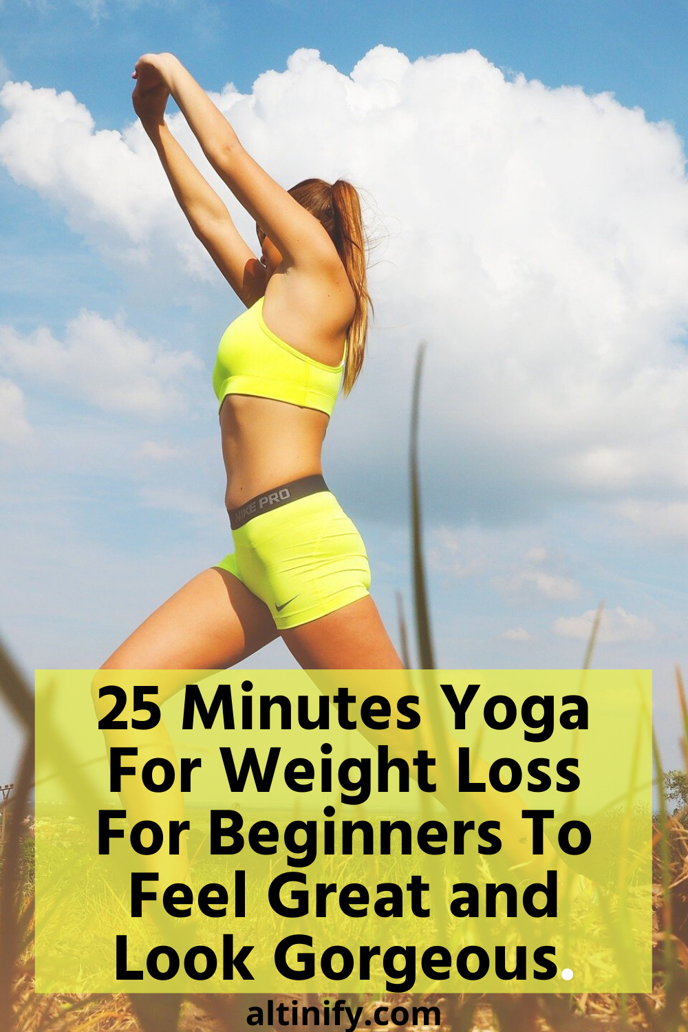 25 Minutes Yoga For Weight Loss For Beginners [With Videos]