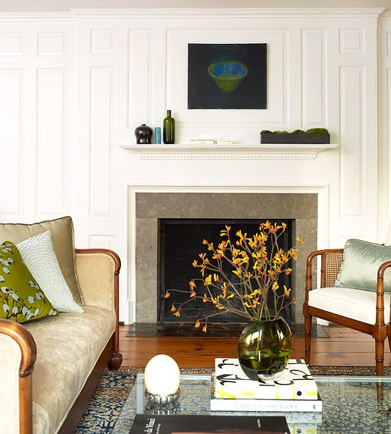 Before and After: Fireplace Makeovers | Simple fireplace ...