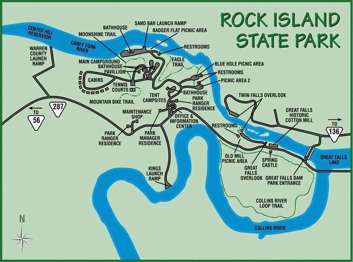 Rock Island State Park   Tennessee   ADVrider
