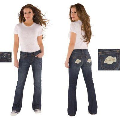 Los Angeles Lakers Alyssa Milano Jeans