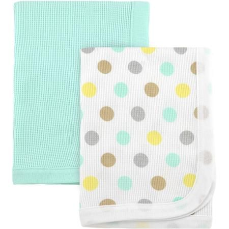 Walmart Swaddle Blankets Amazing Garanimals Animal Crackers Thermal Receiving Blankets 2Pk  Walmart Review