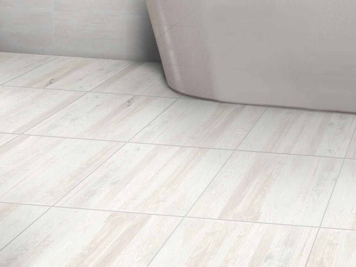 Origins White Floor Tile | CTM | Neutral and Natural Bathrooms ...
