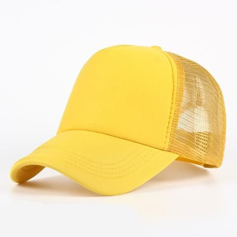 dab03895b5a 6 color Wholesale Cheap Mens Plain Trucker Hats for Spring Summer Womens  Blank Mesh Snapback Caps Men Foam Net Snap Back Cap