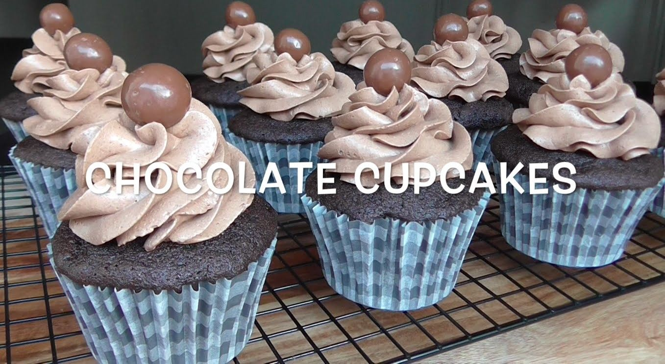 How to Make Chocolate Cupcakes Resep cupcake coklat Chocolate