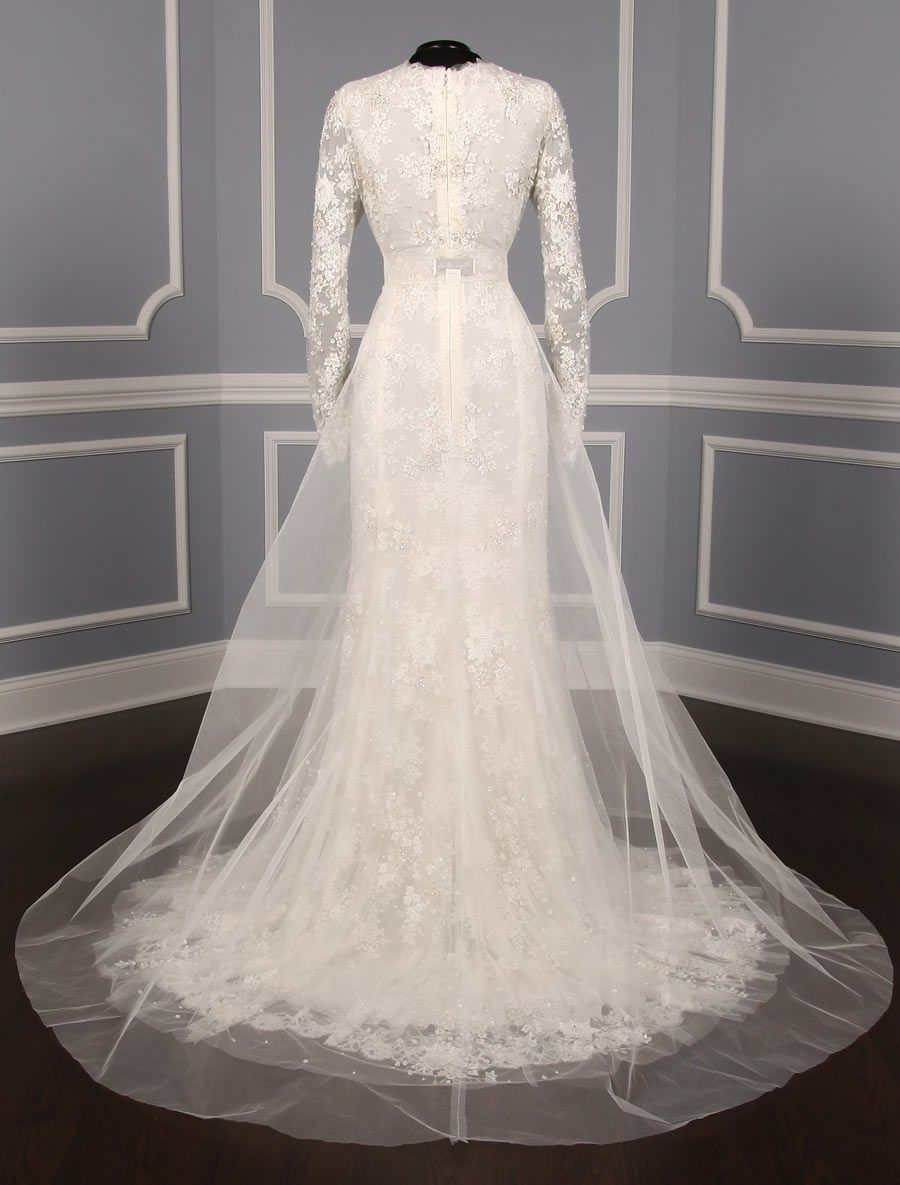 This 100 Authentic New Monique Lhuillier Candice Wedding Dress
