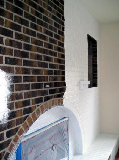 How To Paint Brick Indoors