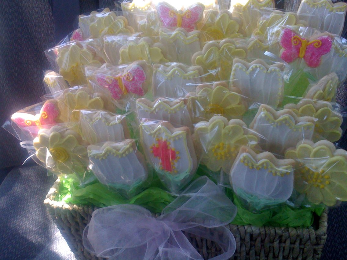 Sugar Cookies For A Funeral Instead Of Flowers Goodies