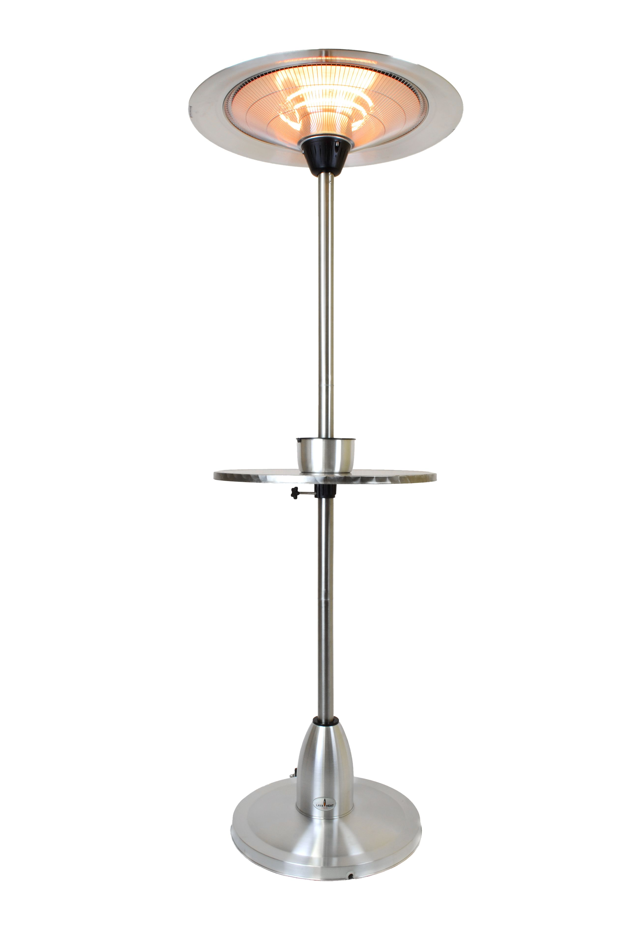 Pub Table Deluxe Patio Heater Stainless Steel Patio Heater Fireplace Mantels Surrounds Heater