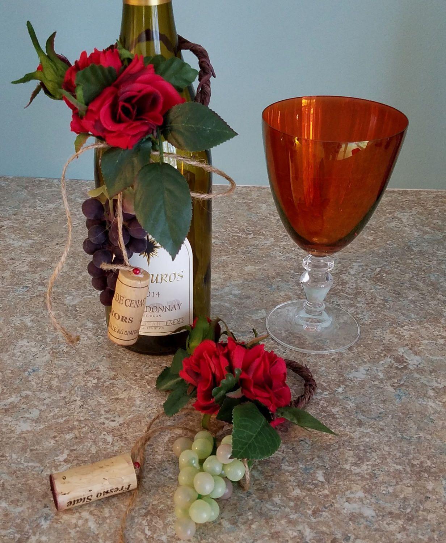 Pin By Abigail Tapia On Bonnie Retirement In 2020 Wine Bottle Topper Bottle Toppers Wine Decor