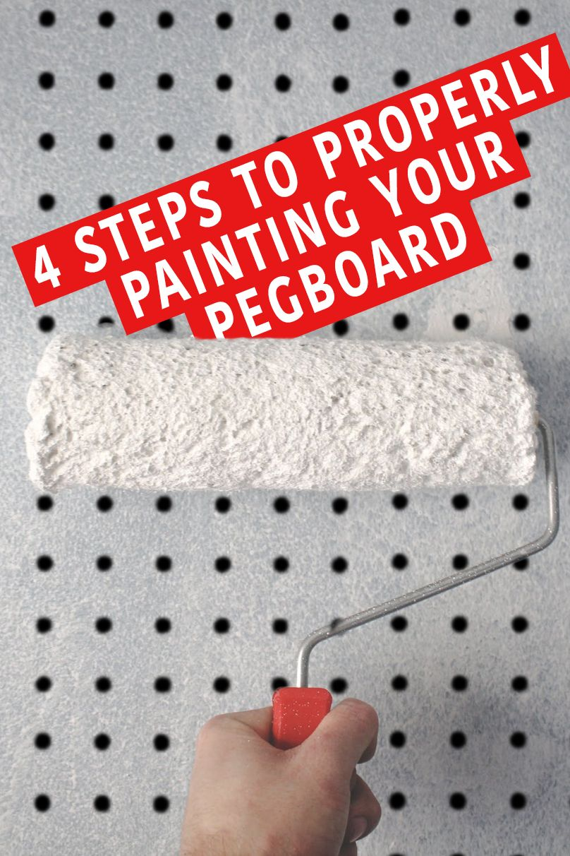 How To Paint Pegboard A Definitive Diy Guide In 2020 Pegboard Craft Room Painted Pegboard Peg Board