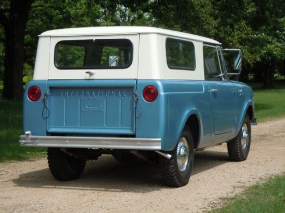 12k Miles Of Snow 1963 International Scout 80 International Scout International Harvester Scout Scout