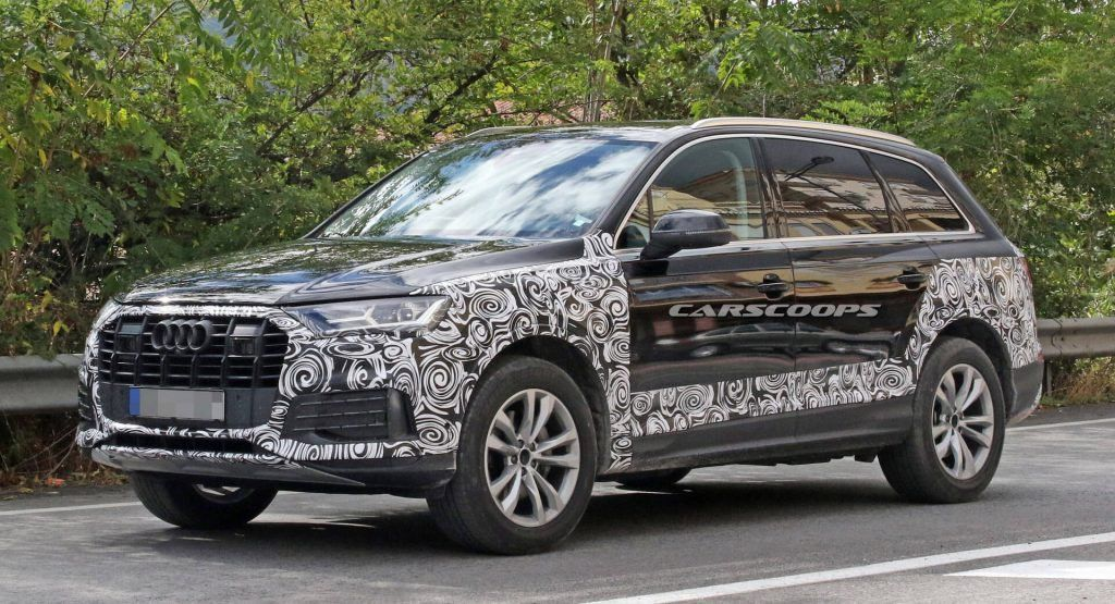 Audi Prepping Facelift 2020 Q7 With New Grille And Headlights Audi Q7 Audi New Audi Car