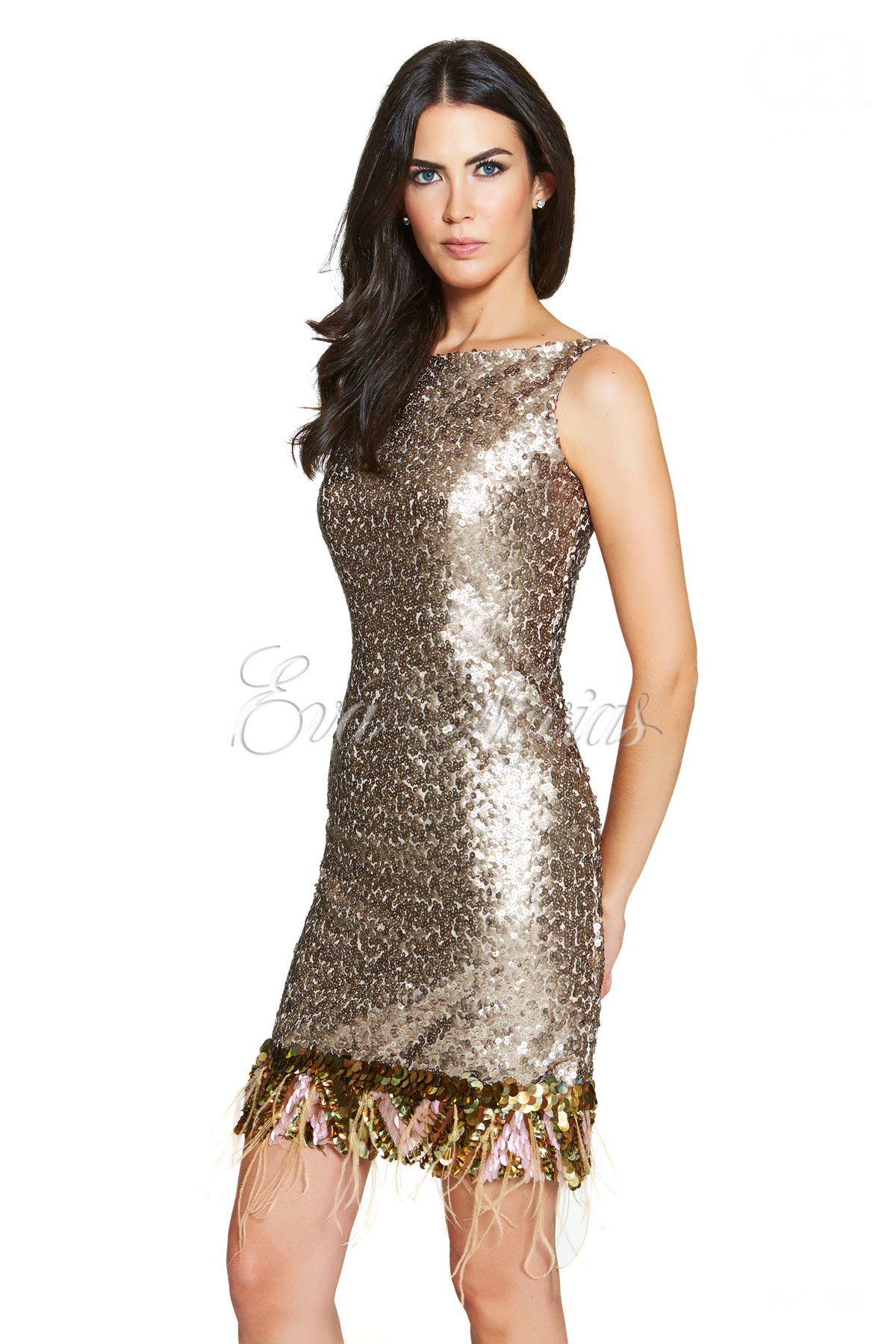 Vestido de Fiesta Carlota Modelo 238 en Madrid. #cocktail #vestidosdefiesta #boda #modamujer