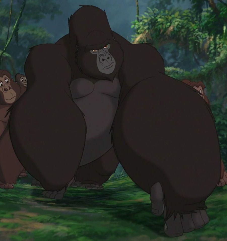 Kerchak Tarzans Adoptive Gorilla Father Tarzan Classic Disney