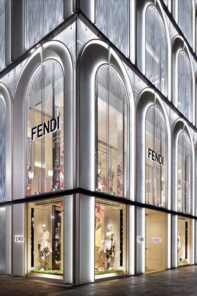GINZA SIX FENDI FACADE | WORKS - CURIOSITY - キュリオシティ - | X ...
