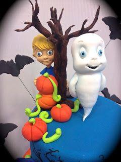 Cake Designer: Torta Casper scuola di paura