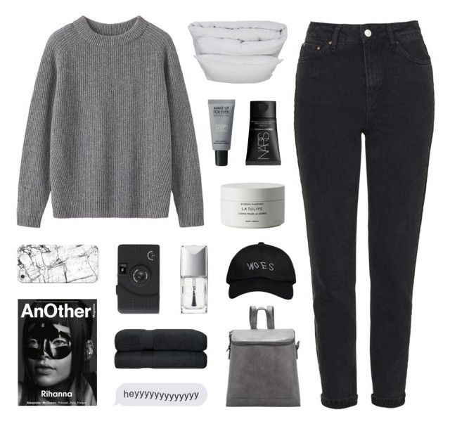"""hundred miles"" by kiiaa ❤ liked on Polyvore featuring Topshop, Toast, By Nord, Alexander McQueen, MAKE UP FOR EVER, NARS Cosmetics, Byredo, Casetify, Christian Dior and October's Very Own"