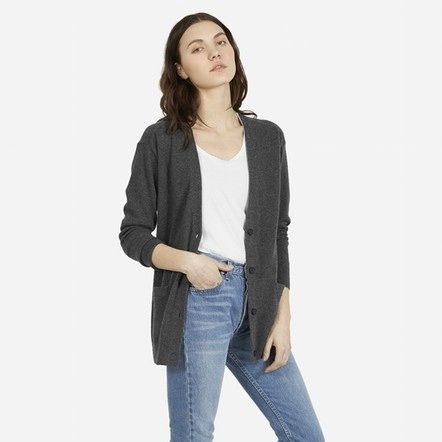 to buy: cashmere cardigan | everlane