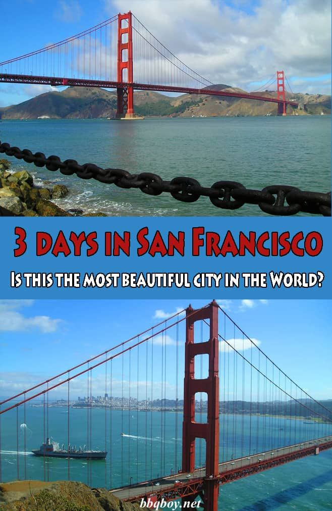 3 days in San Francisco. Is this the most beautiful city in the World? #bbqboy #SanFrancisco #USA #travel