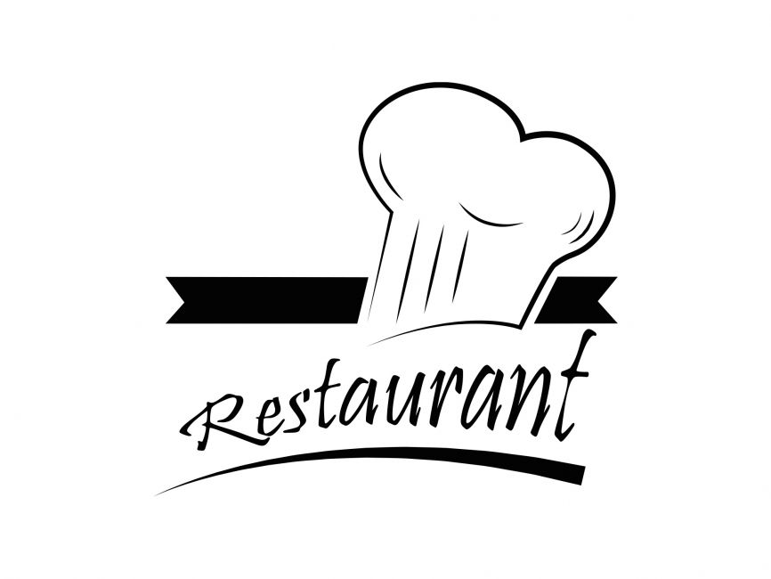 Restaurant vector logo element