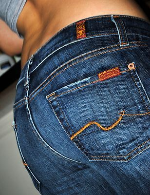 Seven jeans - mu favorite jeans of all time . The fit is always perfect for  my body shape and a good pair of jeans is worth the price ! b4e989d88