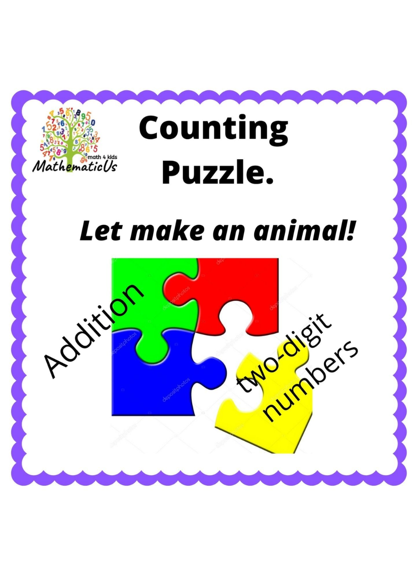 Addition Puzzles In