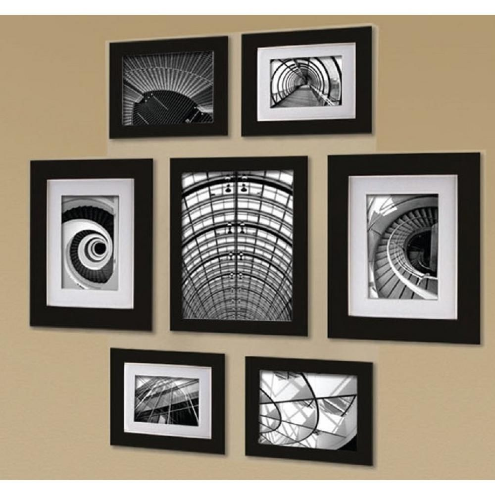 Pinnacle 7 Opening 8 In X 10 In Wall Collage Picture Frame Picture Frame Wall Picture Frame Gallery Wall Collage Picture Frames