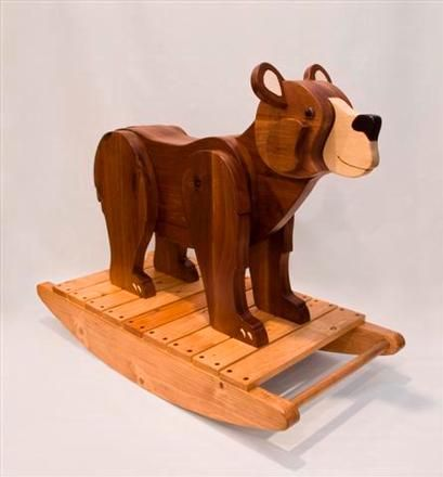 First Birthday Bear Rocker Built By Chris F You Should