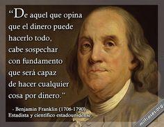 Benjamin Franklin Estadista Y Científico Estadounidense
