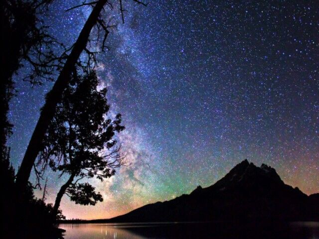 Milky Way and Stars near Moab, Utah