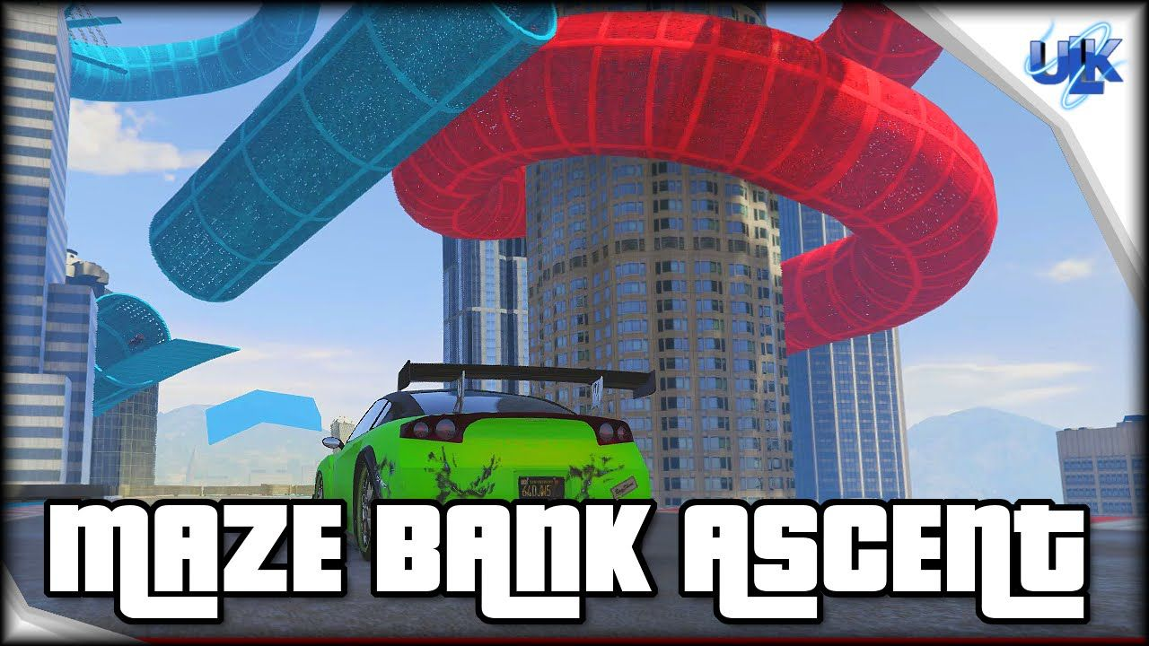 Gta 5 Cunning Stunts Maze Bank Ascent 6 16 Stunts Cunning Gta 5