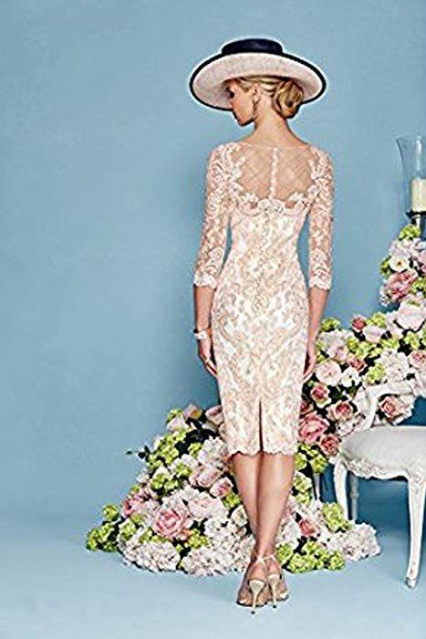 Elegant rosa chiffon kleider damen festlich