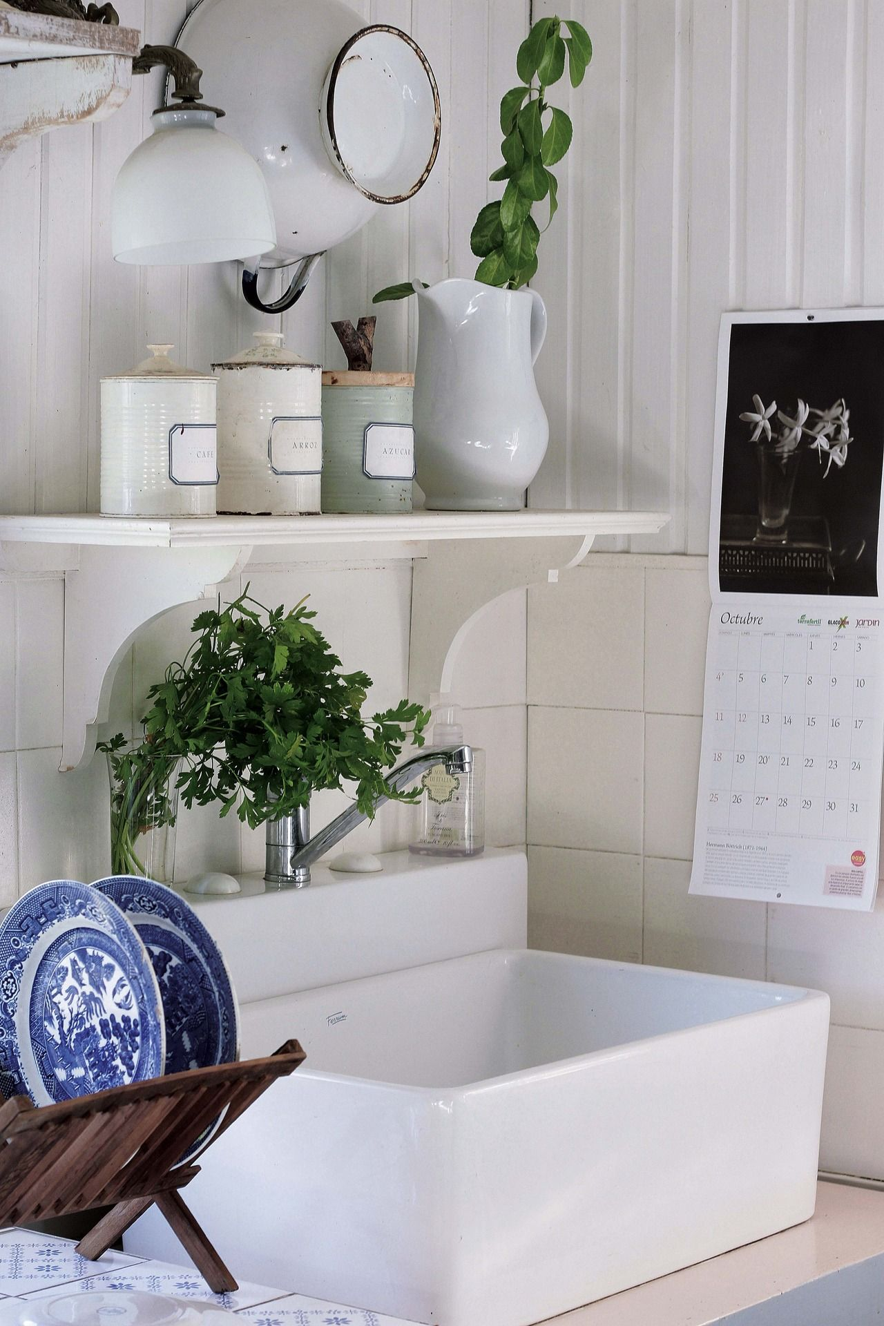 Explore Powder Room, Romantic Kitchen, And More
