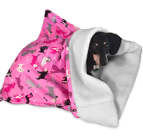 Snuggle Bag Dog Bed For Burrowing Dachshunds Dog Bed Dachshund