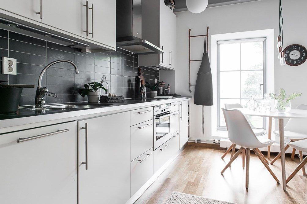 Amenajare în alb și gri într-un duplex de 46 m² Jurnal de design interior