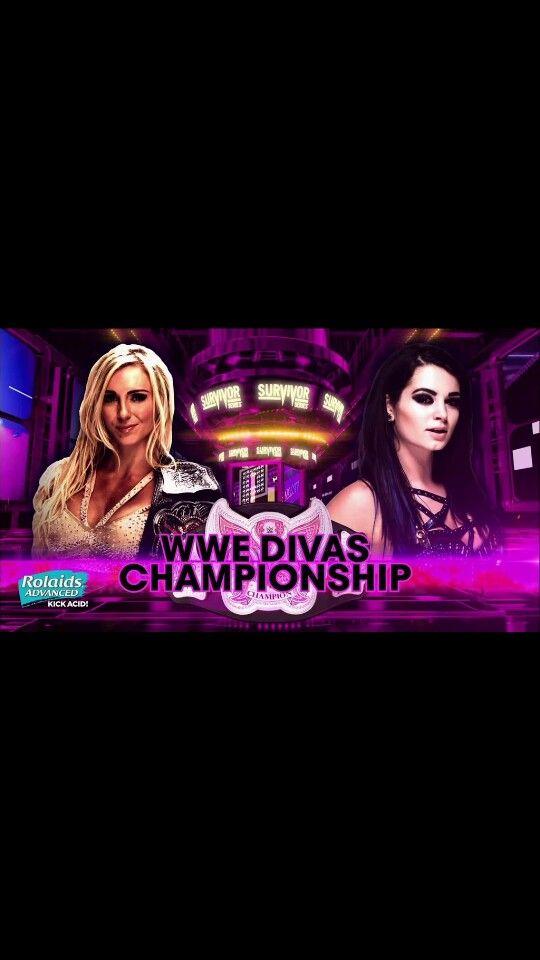Former best friends now enemies! Anti-Diva Paige vs Divas Champ Charlotte at Survivor Series
