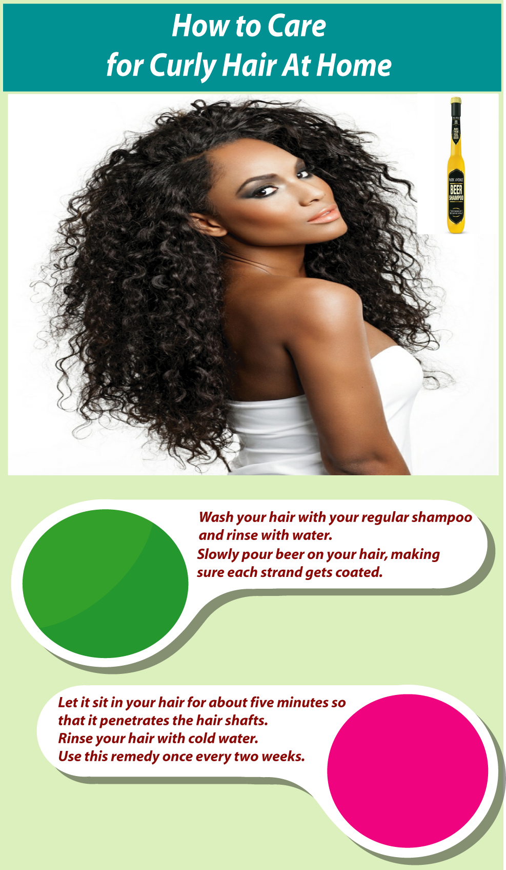 How to care for curly hair at home pinterest curly hair care