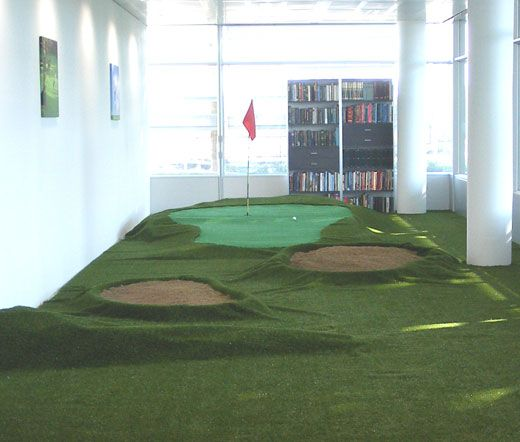 Indoor Putting Green Office E