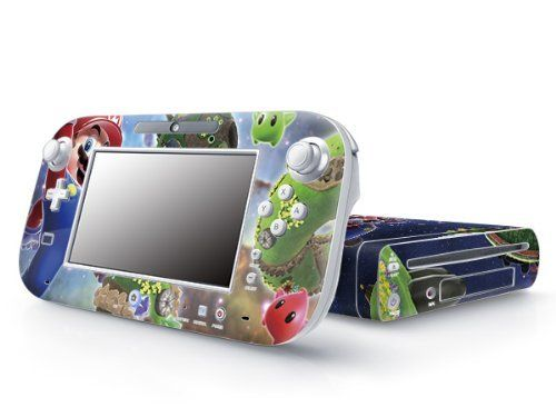 Super Mario Nintendo Wii U Decorative Skin Sticker Protective Decal by Pacers @ niftywarehouse.com