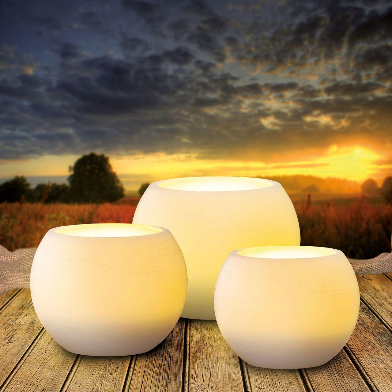 Popular LED Kugelkerze Glow