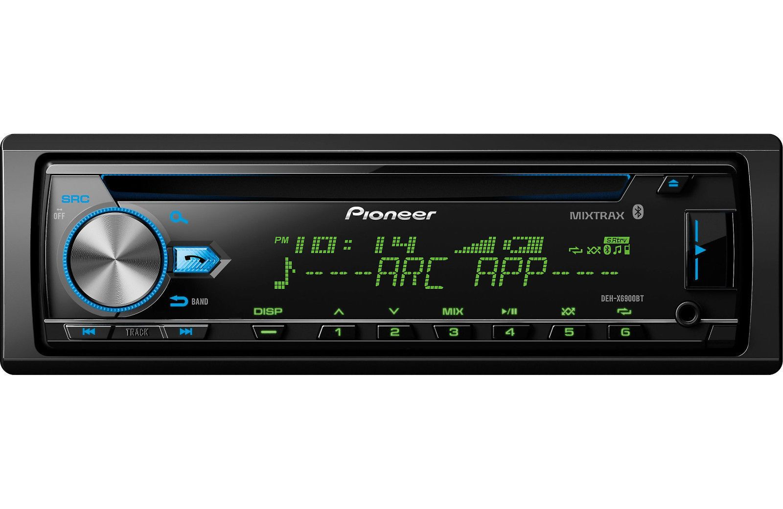 Pioneer DEH-X6900BT CD/MP3/WMA Player Built-in Bluetooth MIXTRAX