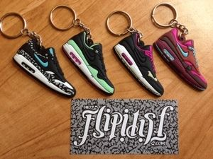 Nike Air Max 1 Kid Robot keychain | Premium Outsole Exclusive