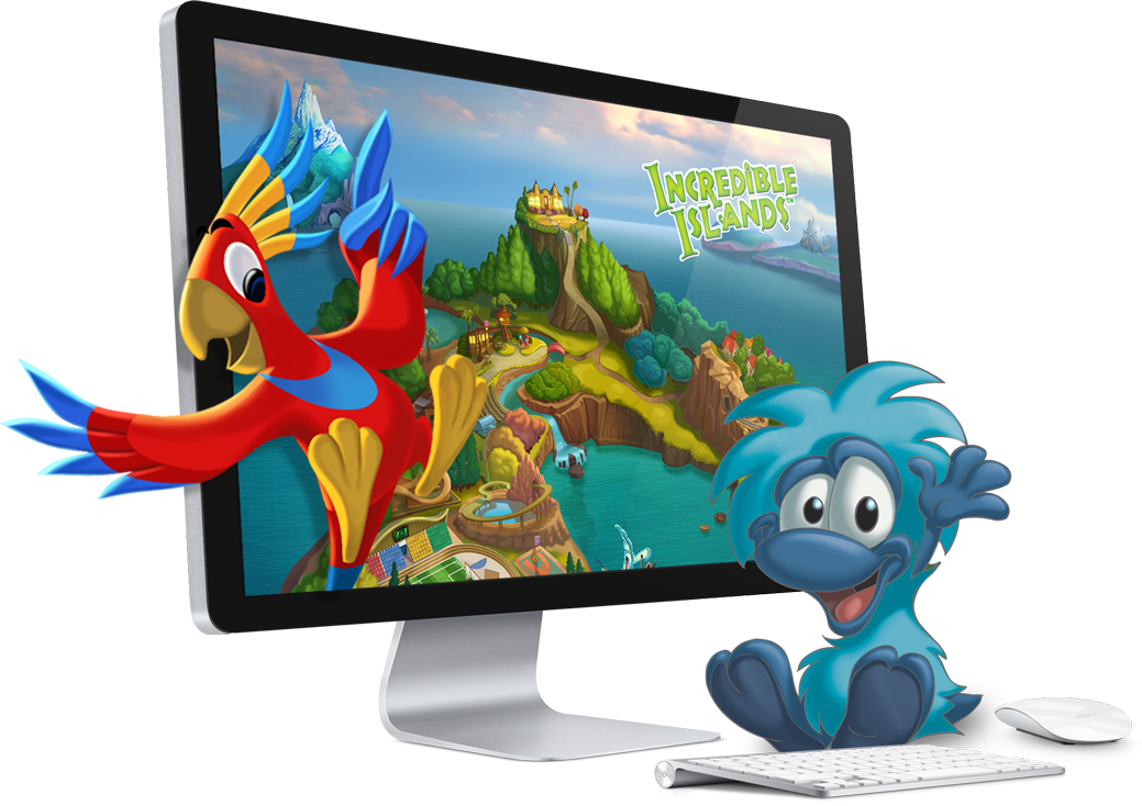 Incredible Islands is an online game that teaches the