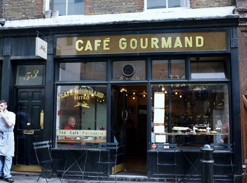 cafe gourmand a slice of paris in soho french bistro recommended by have you heard of it. Black Bedroom Furniture Sets. Home Design Ideas