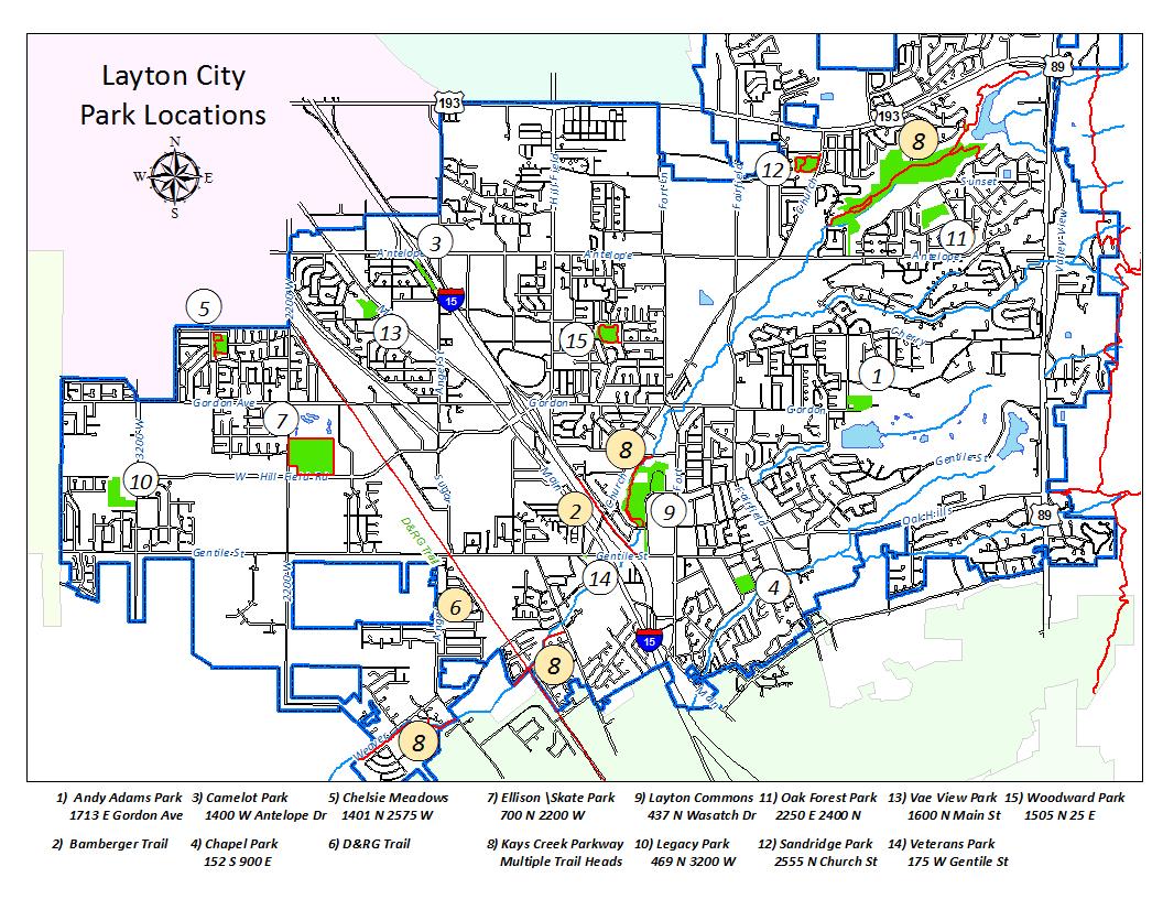 Layton City City Parks Park City City Park