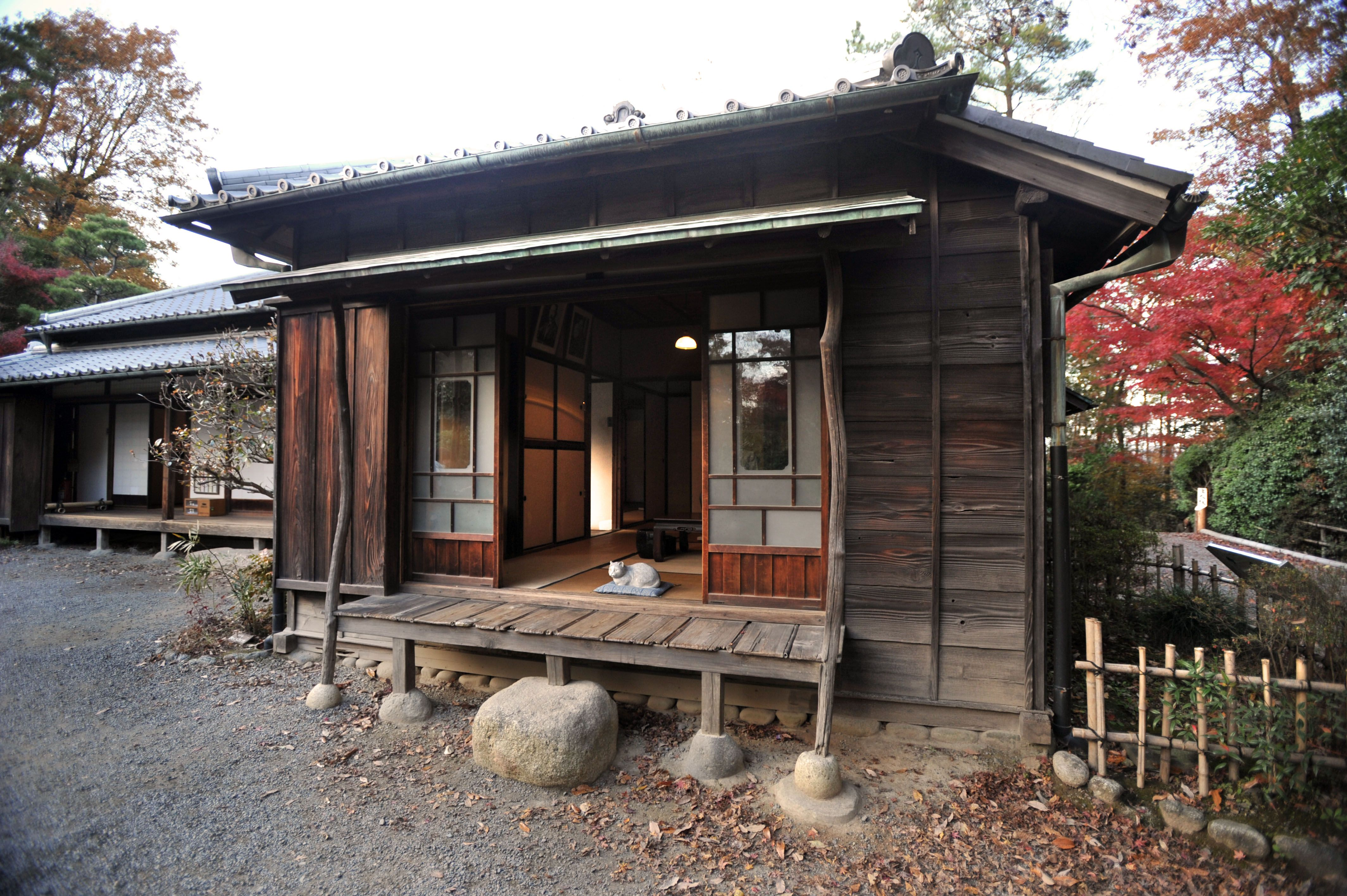 The House Of Ogai Mori And Soseki Natsume Japanese Tea House Japanese Style House Traditional Japanese House