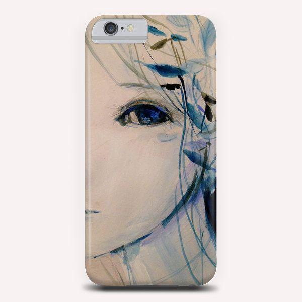 """Blue 04"" Phone Case by Ai Natori on Artsider - http://www.artsider.com/works/23967-blue-04_phone-cases"