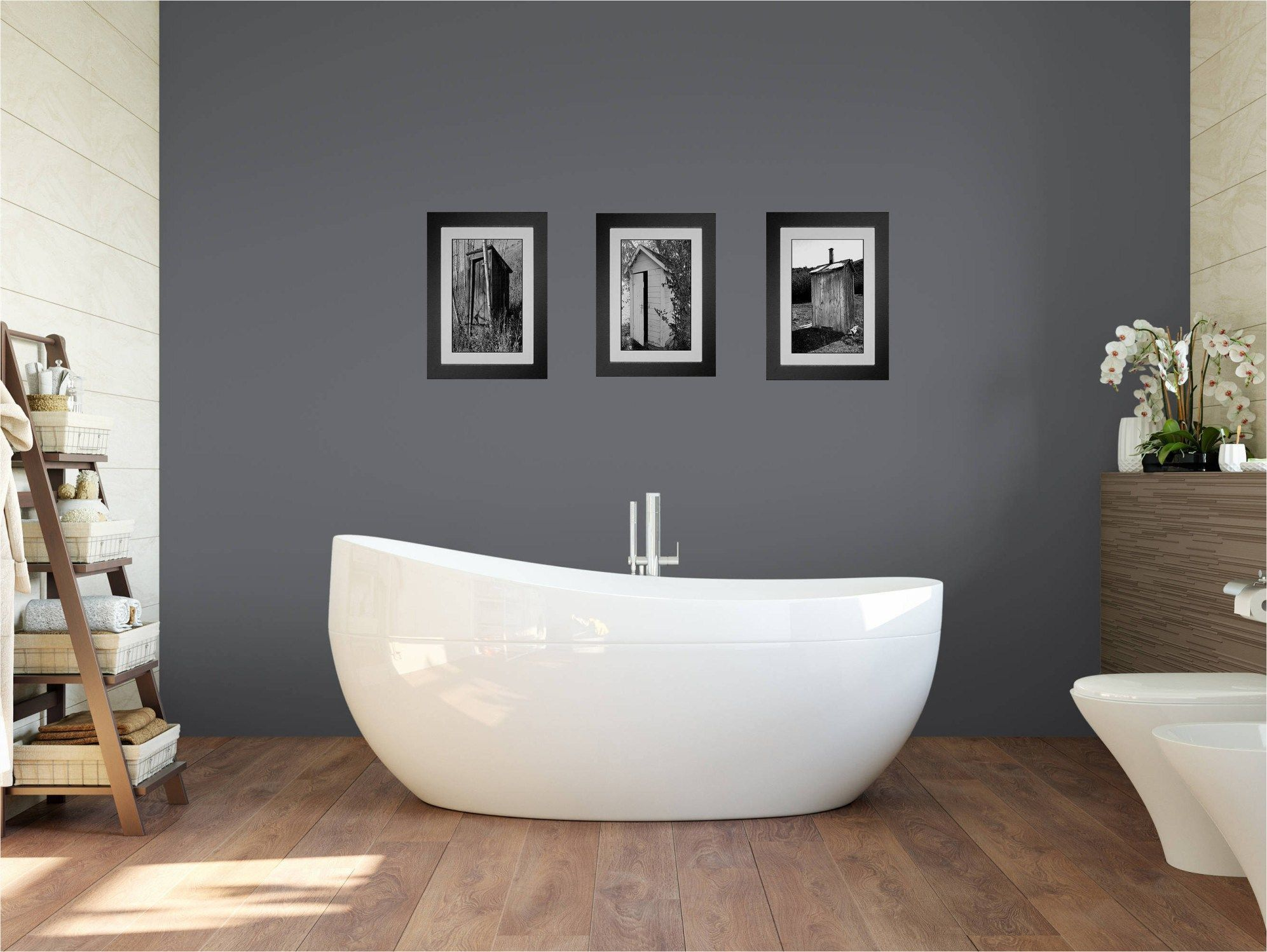 Funny Bathroom Signs Set Of 4 Unframed 8x10s Bathroom