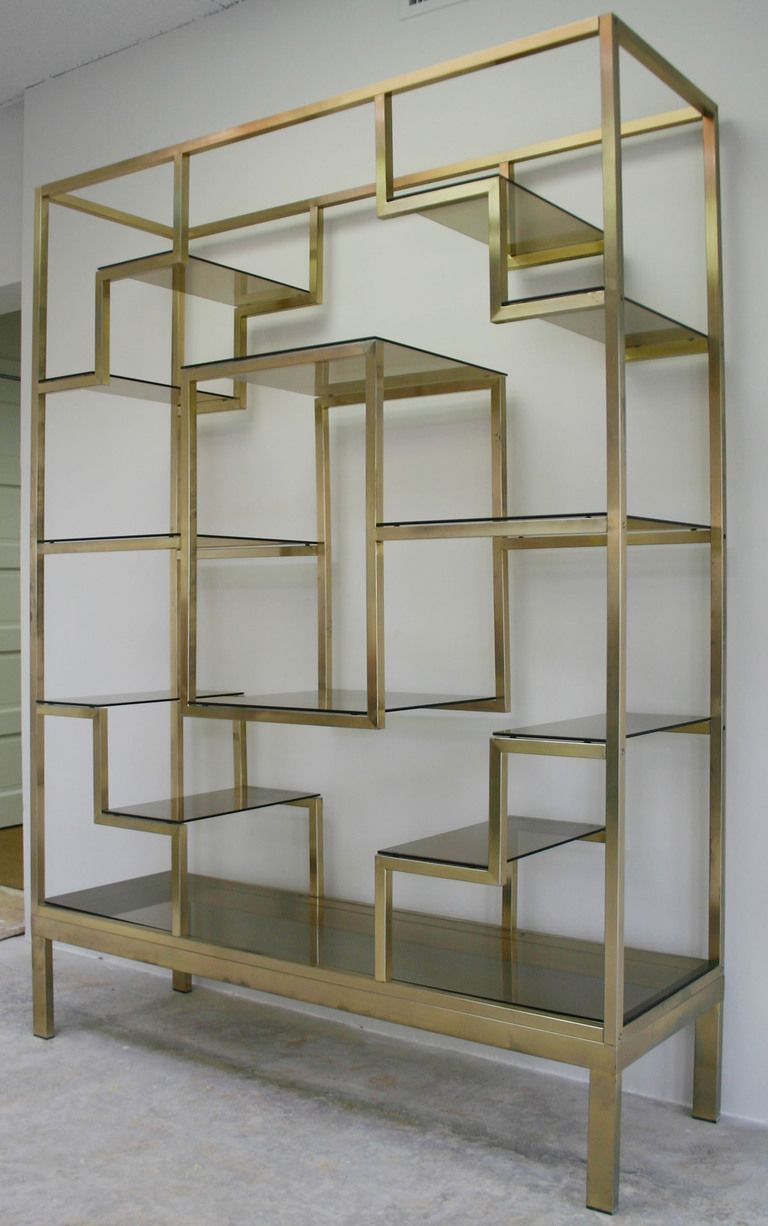 Italian Brass Etagere From A Unique Collection Of Antique And